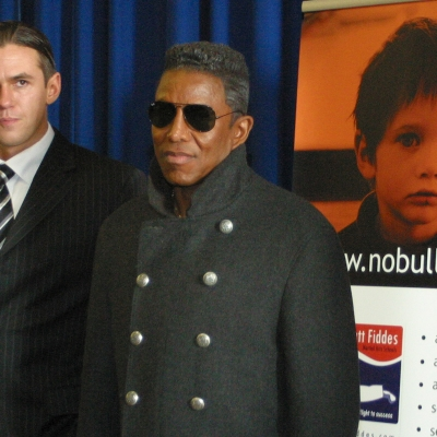 Matt Fiddes Jermaine Jackson anti bully