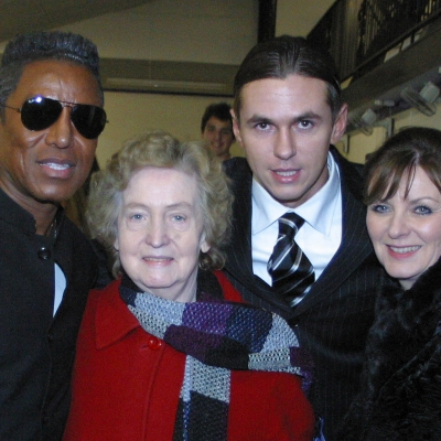 Matt Fiddes Jermaine Jackson family