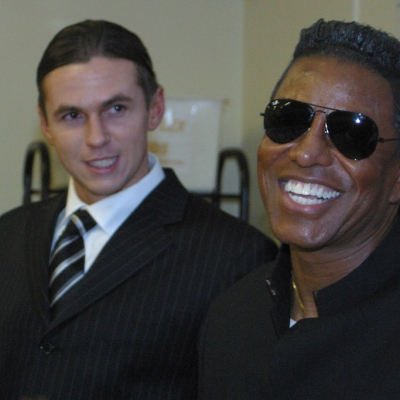 Matt Fiddes Jermaine Jackson in Swindon
