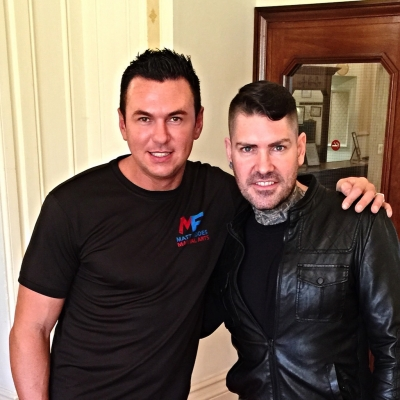 Matt Fiddes Shane Lynch Boyzone