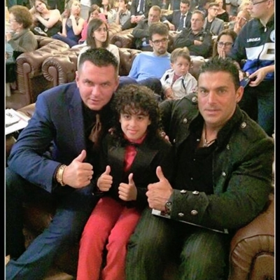 Matt Fiddes Silvio Simac Italy Hall of Fame
