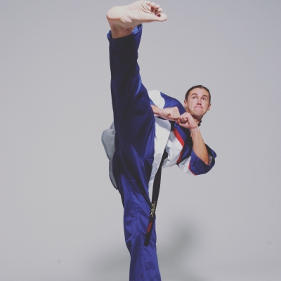 Matt Fiddes kick