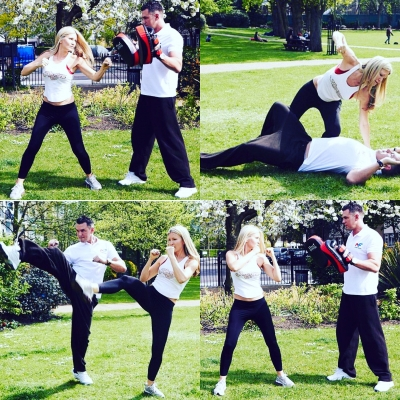Matt Fiddes supermodel Caprice