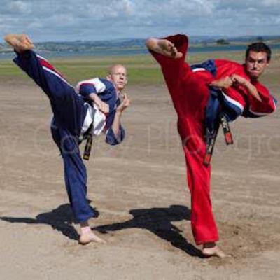 Matt Fiddes with Giles Richards