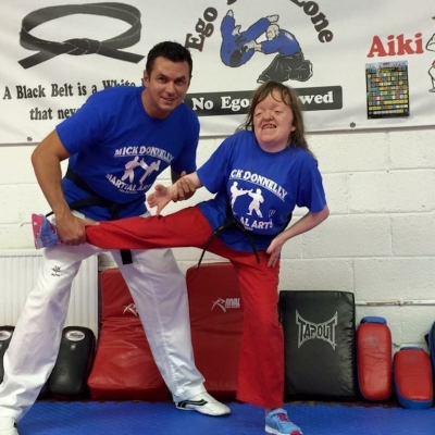 Matt Fiddes with Hannah Donnelly