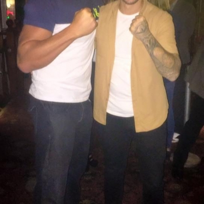 Matt Fiddes with Kirk Norcross